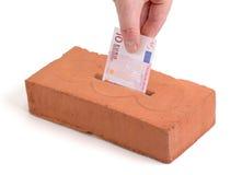 Euro deposit Royalty Free Stock Image