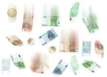 Euro deszcz Fotografia Royalty Free