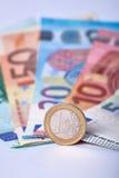 Euro devise Photographie stock libre de droits