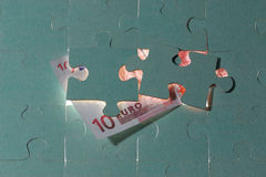 Euro dez Foto de Stock