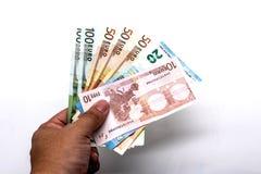Euro di affari monay Fotografia Stock Libera da Diritti