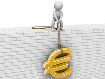 Euro di aumento! Immagine Stock Libera da Diritti