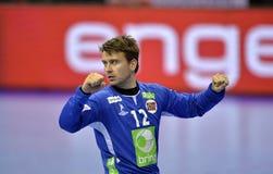 EURO di EHF Francia 2016 Norvegia Fotografia Stock
