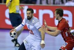 EURO di EHF Francia 2016 Norvegia Fotografie Stock Libere da Diritti
