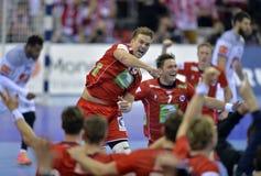 EURO di EHF Francia 2016 Norvegia Immagini Stock Libere da Diritti
