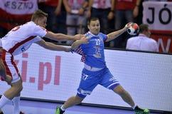 EURO di EHF Polonia 2016 Croazia Immagini Stock