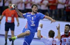 EURO di EHF Polonia 2016 Croazia Immagini Stock Libere da Diritti
