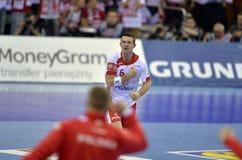 EURO di EHF Polonia 2016 Croazia Fotografia Stock
