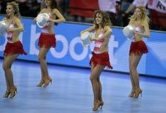 EURO di EHF Polonia 2016 Croazia Immagine Stock Libera da Diritti