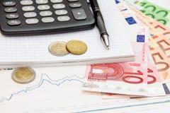 Euro di Monay Fotografia Stock