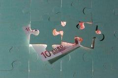 Euro dieci Fotografia Stock