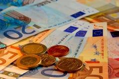 Euro- dinheiro Imagem de Stock