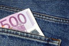 Euro- dinheiro Foto de Stock