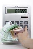 Euro- dinheiro Imagens de Stock