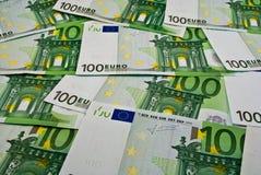Euro- dinheiro das notas de banco imagem de stock royalty free