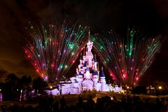 Euro Disneyland Paris castle