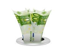 Euro dispersore Immagine Stock