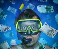 Euro diver Stock Image