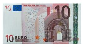 Euro Dix Photographie stock