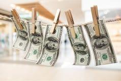 euro do czyszczenia pierze forsę do mycia Zdjęcie Royalty Free