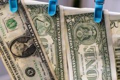 euro do czyszczenia pierze forsę do mycia Obrazy Stock