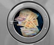 euro do czyszczenia pierze forsę do mycia Obraz Royalty Free