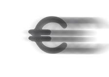 Euro do símbolo Imagens de Stock Royalty Free