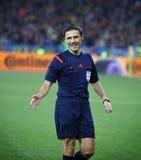 EURO do UEFA 2016 Espanhas de qualificação de Ucrânia v do jogo Fotos de Stock Royalty Free