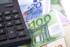 Euro document Royalty-vrije Stock Fotografie