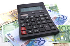Euro document Royalty-vrije Stock Foto's