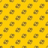Euro dollar euro exchange pattern vector. Euro dollar euro exchange pattern seamless vector repeat geometric yellow for any design vector illustration
