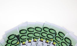 Euro And Dollar Money Stock Images