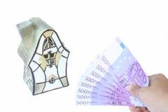 euro dom Zdjęcia Royalty Free