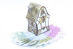 euro dom Zdjęcie Stock