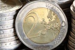 Euro dos Imagen de archivo