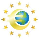 Euro drapeau illustration libre de droits