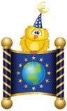 Euro drapeau illustration de vecteur
