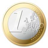 Euro e-payment Stock Image