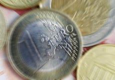 Euro Economy Royalty Free Stock Photography