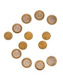 8 Euro 50 Stock Photo
