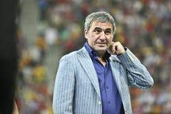 Euro-Eignung-Umlauf 2012 (Gruppe D) Rumänien-Frankreich Lizenzfreie Stockbilder