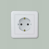 Euro electric socket 01 Stock Photo