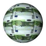 Euro- esfera Fotografia de Stock Royalty Free