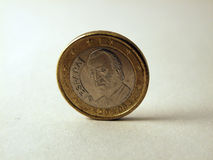 Euro espagnol Photographie stock
