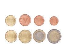 Euro- Estónia fotos de stock