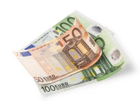 -Euro-Eu ropean currency Royalty Free Stock Photos