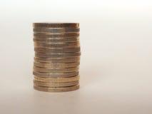 Euro EUR coins, European Union EU Royalty Free Stock Image