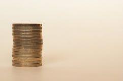 Euro EUR-muntstukken, Europese Unie de EU Royalty-vrije Stock Foto