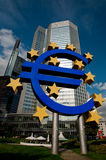 Euro - European Central Bank Royalty Free Stock Photos