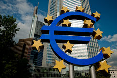 Euro - European Central Bank Stock Images